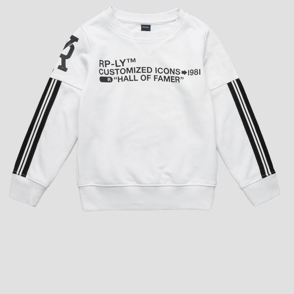 RP-LY CUSTOMIZED ICONS sweatshirt- REPLAY&SONS SB2207_050_22739_985_1