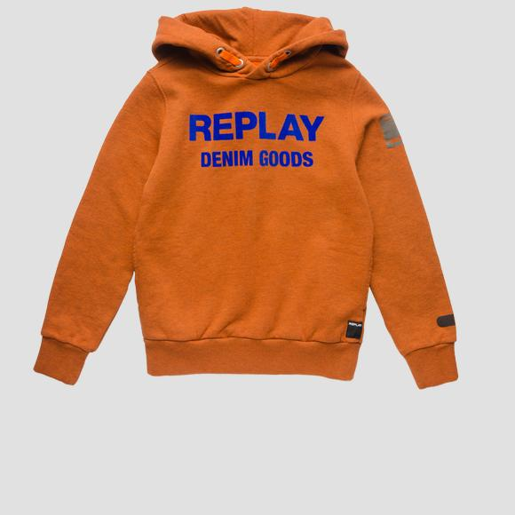 REPLAY DENIM GOODS sweatshirt- REPLAY&SONS SB2422_051_22772_518_1