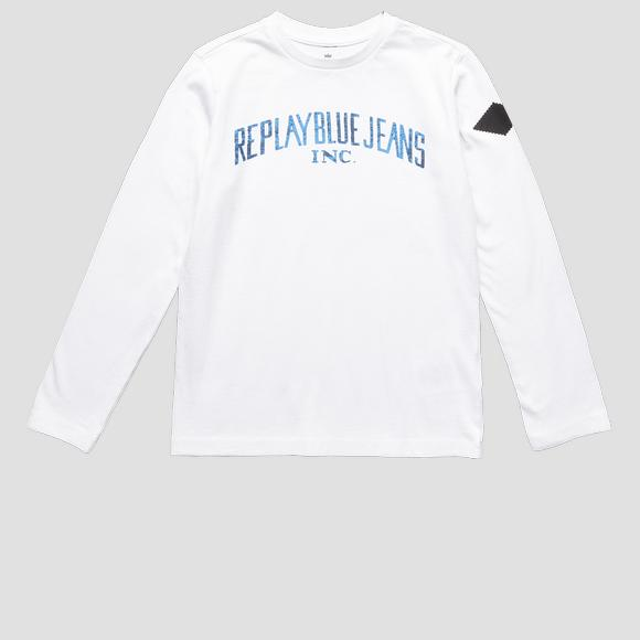 REPLAY BLUE JEANS crewneck t-shirt- REPLAY&SONS SB7060_095_22784_001_1