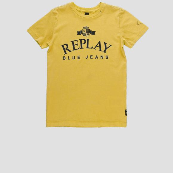 Regular fit garment-dyed t-shirt- REPLAY&SONS SB7308_021_22658G_549_1