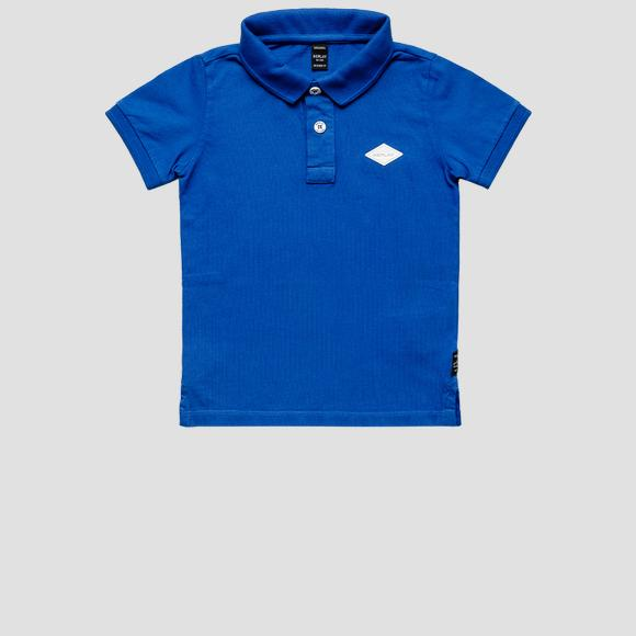 Regular fit polo t-shirt in piquet cotton- REPLAY&SONS SB7524_058_22914G_888_1