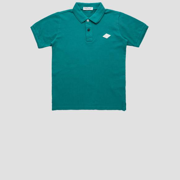 REPLAY polo shirt in cotton piqué- REPLAY&SONS SB7524_062_23126G_430_1