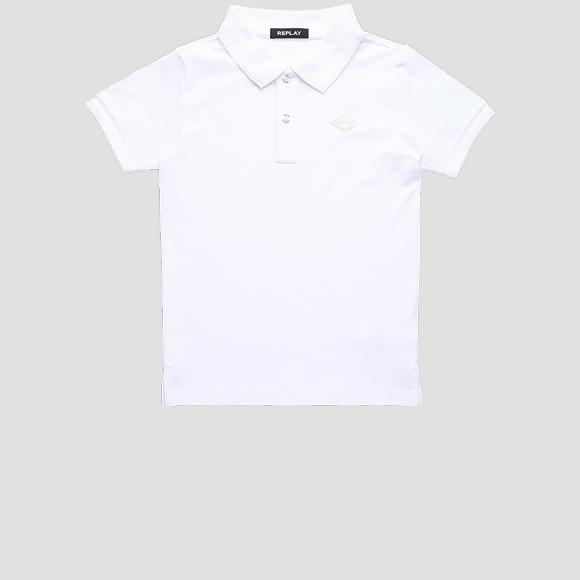 Polo shirt in cotton piqué- REPLAY&SONS SB7524_063_21868_001_1