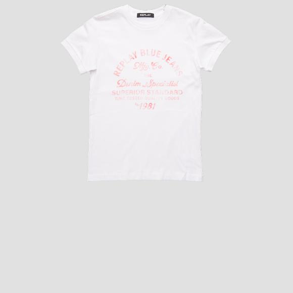 Jersey t-shirt REPLAY BLUE JEANS- REPLAY&SONS SB7527_057_2660_001_1