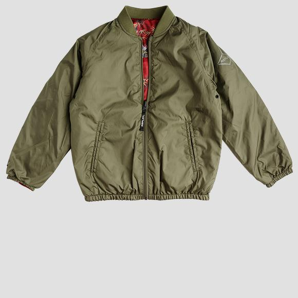 Light bomber jacket with pockets- REPLAY&SONS SB8015_050_82692_532_1