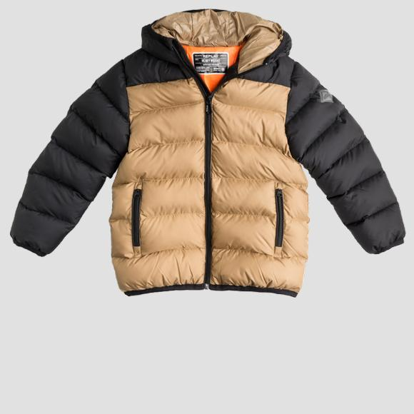 Heavy weight recycled nylon REPLAY jacket- REPLAY&SONS SB8020_050_84122_725_1