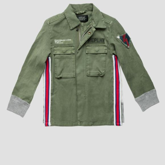 Army jacket- REPLAY&SONS SB8154_050_80655_806_1