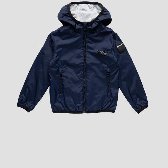 Recycled nylon jacket- REPLAY&SONS SB8180_050_83578_687_1