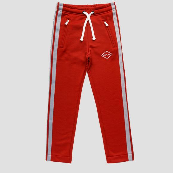 REPLAY trousers with drawstring- REPLAY&SONS SB9035_050_22966_656_1