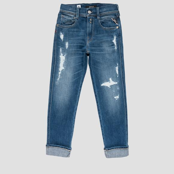 Skinny fit low crotch Aged Brae jeans- REPLAY&SONS SB9045_051_353-415_009_1