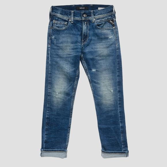 Regular Slim Fit Jeans- REPLAY&SONS SB9328_066_51C-804_001_1