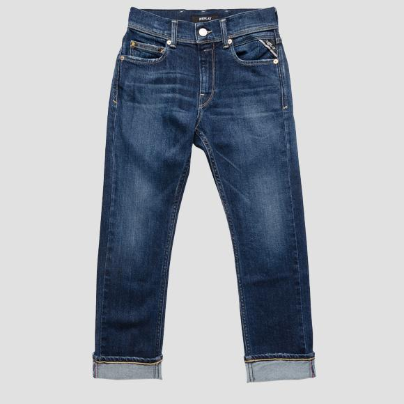 Slim Fit Jeans Neill Aged 5 years- REPLAY&SONS SB9328_075_223-213_001_1
