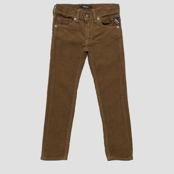 Regular fit corduroy trousers- REPLAY&SONS SB9360_053_8082990_020_1