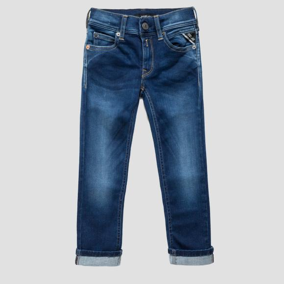 Slim fit Hyperflex jeans- REPLAY&SONS SB9385_053_661-332_009_1