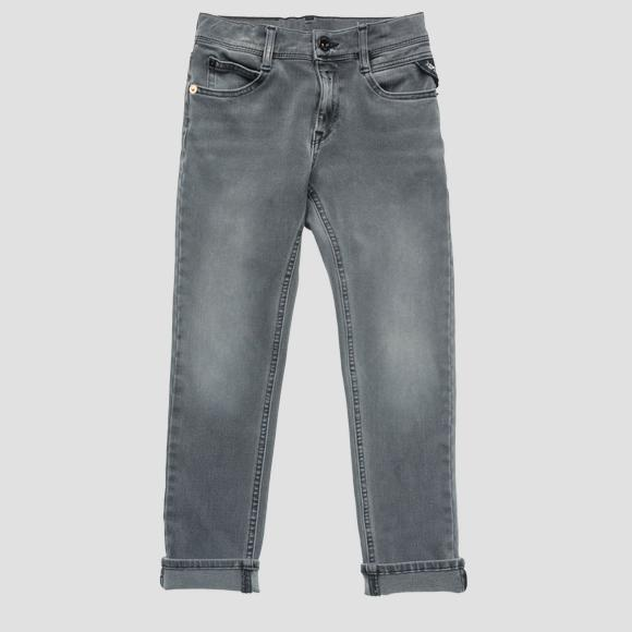 Super slim fit Hyperflex jeans- REPLAY&SONS SB9385_057_661-S08_010_1