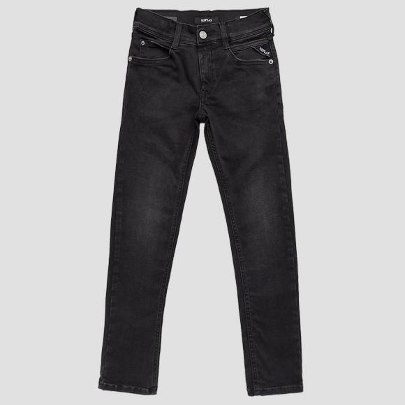 Super slim fit WALLYS Hyperflex Clouds jeans- REPLAY&SONS SB9385_062_661-E01_098_1