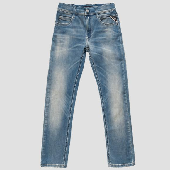 Super slim fit Wallys Hyperflex BIO jeans- REPLAY&SONS SB9385_065_661-A05_009_1
