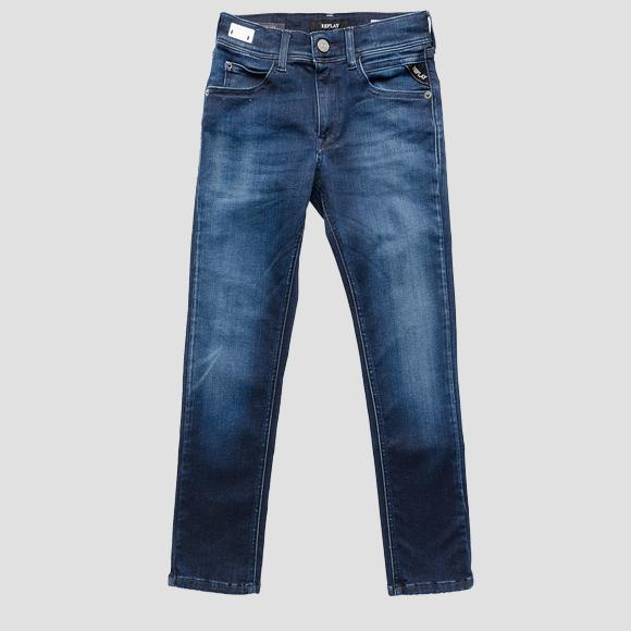 Super slim fit WALLYS Hyperflex Clouds jeans- REPLAY&SONS SB9385_068_661-E05_007_1