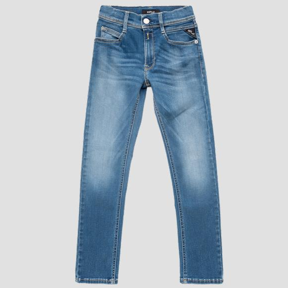 Super slim fit WALLYS Hyperflex BIO jeans- REPLAY&SONS SB9385_069_661-A06_009_1