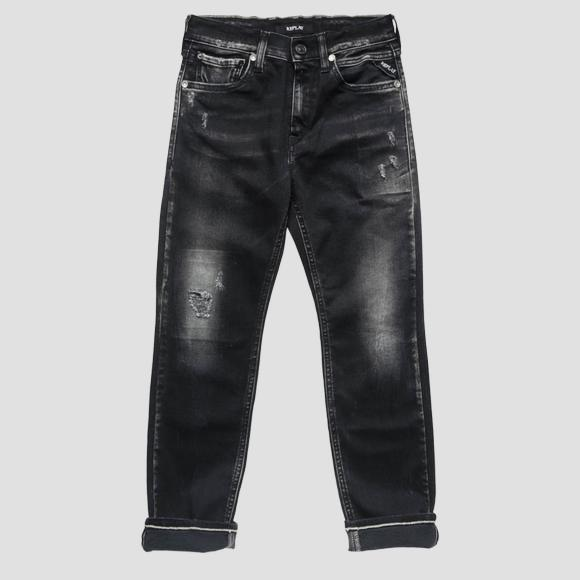 Slim ergonomic fit jeans- REPLAY&SONS SB9387_051_15D-810_001_1