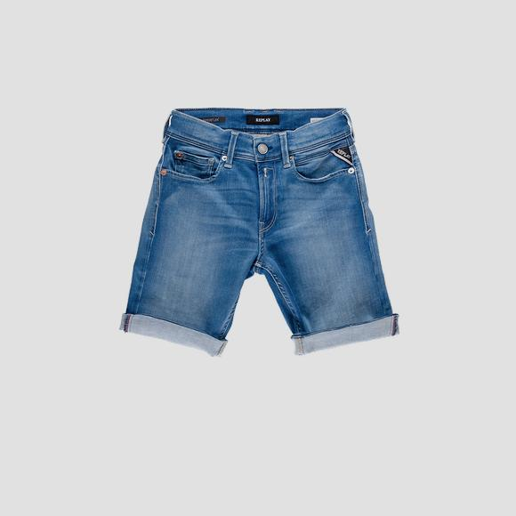 Regular fit Hyperflex short pants- REPLAY&SONS SB9635_051_661-405_001_1