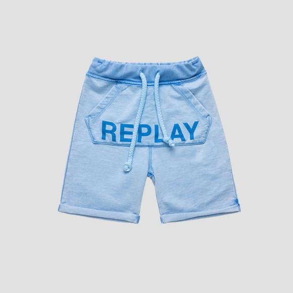 Shorts with REPLAY writing- REPLAY&SONS SB9636_051_22072_577_1
