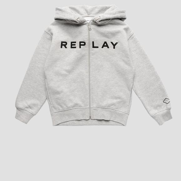 Rose Label hoodie- REPLAY&SONS SG2413_052_20225_M06_1