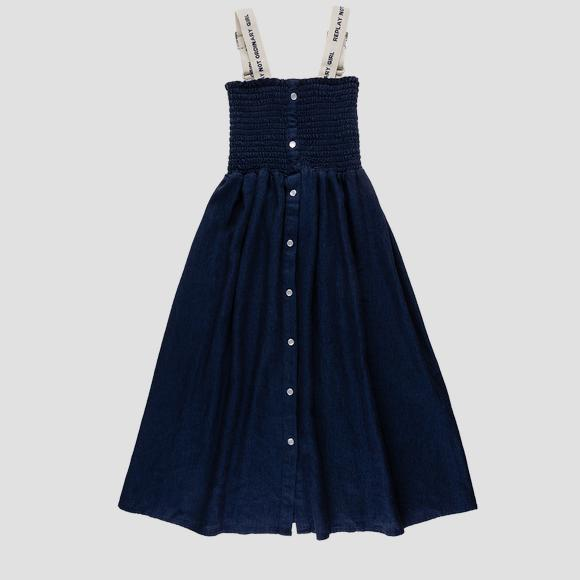 Long dress with buttons- REPLAY&SONS SG3186_050_83620_284_1