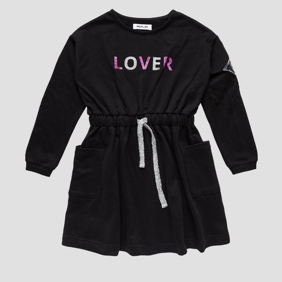 Magic patch fleece dress- REPLAY&SONS SG3609_050_22964_098_1