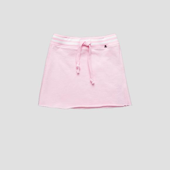 Cotton fleece skirt- REPLAY&SONS SG4047_050_20516_666_1