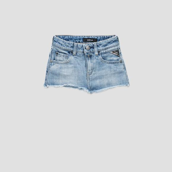 Denim skirt- REPLAY&SONS SG4049_050_100-489_001_1
