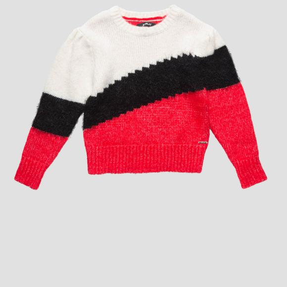 Colourblock sweater- REPLAY&SONS SG5317_050_G22650_010_1