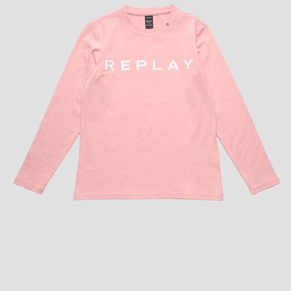 Long-sleeved REPLAY t-shirt- REPLAY&SONS SG7091_010_20230_460_1