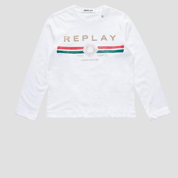 T-shirt REPLAY ESTABLISHED 1981- REPLAY&SONS SG7091_065_22658M_012_1