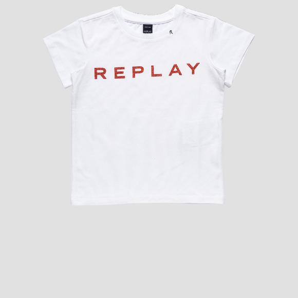 Crewneck stretch cotton t-shirt- REPLAY&SONS SG7479_010_20230_012_1