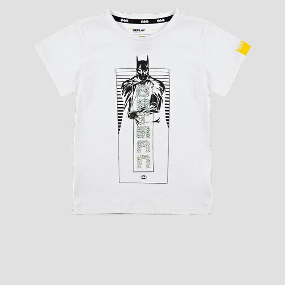 T-shirt in jersey stampa glitter REPLAY TRIBUTE LIMITED EDITION BATMAN E JOKER- REPLAY&SONS SG7479_500_21002_001_1