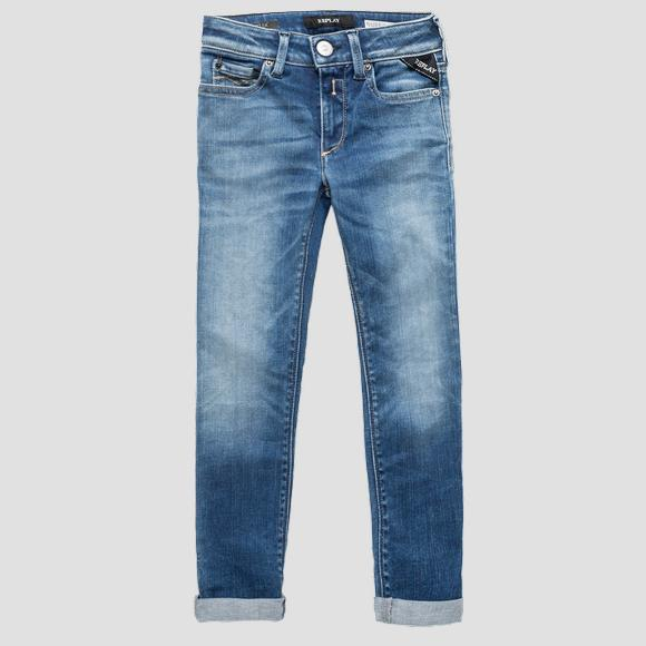 Super skinny fit Hyperflex jeans- REPLAY&SONS SG9208_076_661-808_009_1