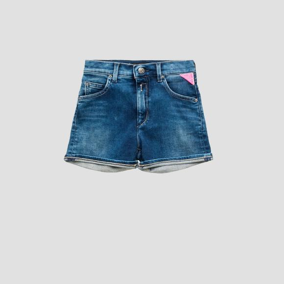 High Waist Slim Fit Shorts Gemy- REPLAY&SONS SG9585_051_291-380_001_1