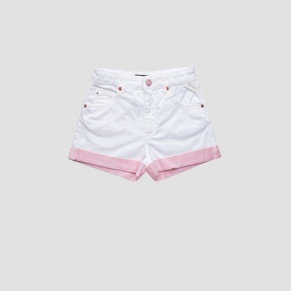 Boyfriend fit Jerin ROSE LABEL shorts- REPLAY&SONS SG9608_050_8005256_001_1