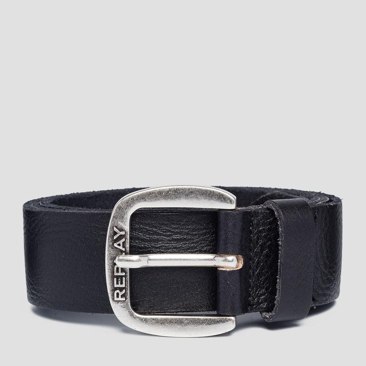 Smooth leather Replay belt am2572.000.a3003e