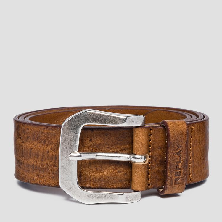 Vintage leather Replay belt am2573.000.a3077