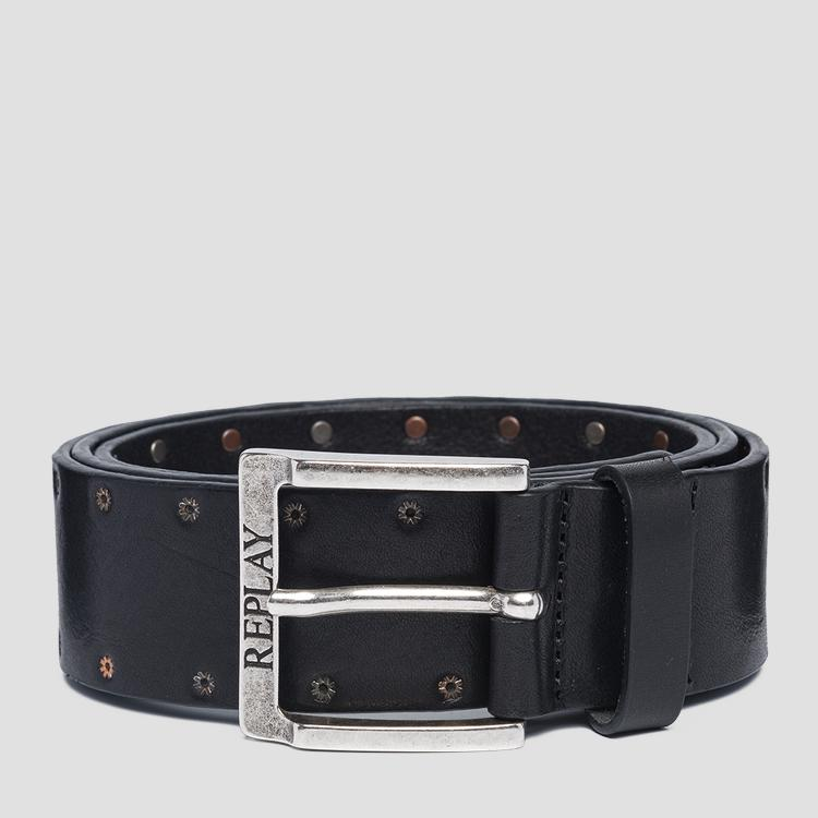 Pull up leather belt - Replay