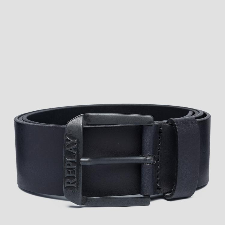 Soft smooth leather belt am2583.000.a3001