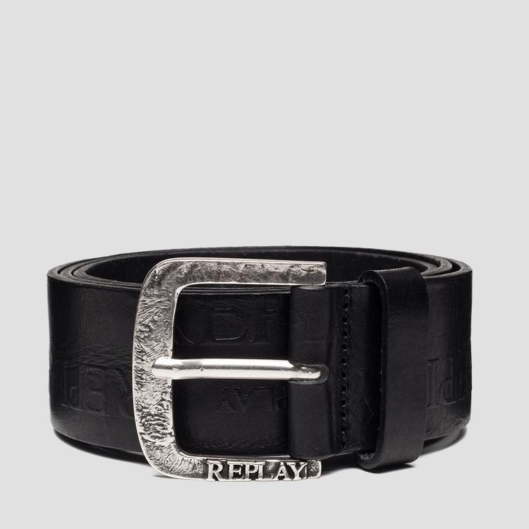 Belt with REPLAY logo am2601.000.a3007
