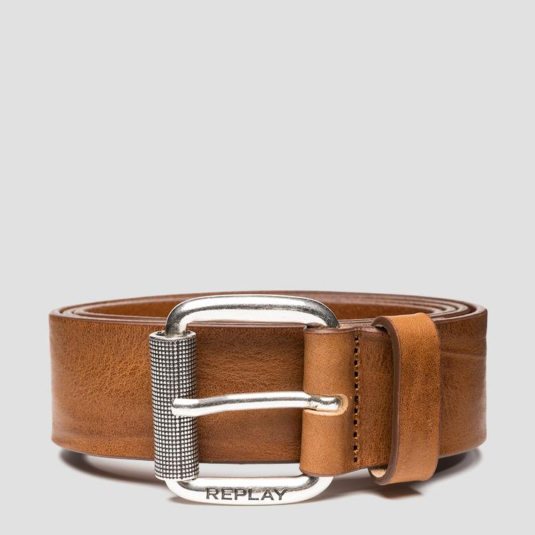 REPLAY belt in vintage leather am2613.000.a3077