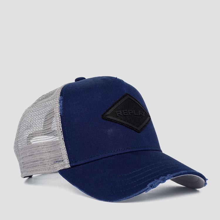 REPLAY cap with breakages am4233.000.a0406