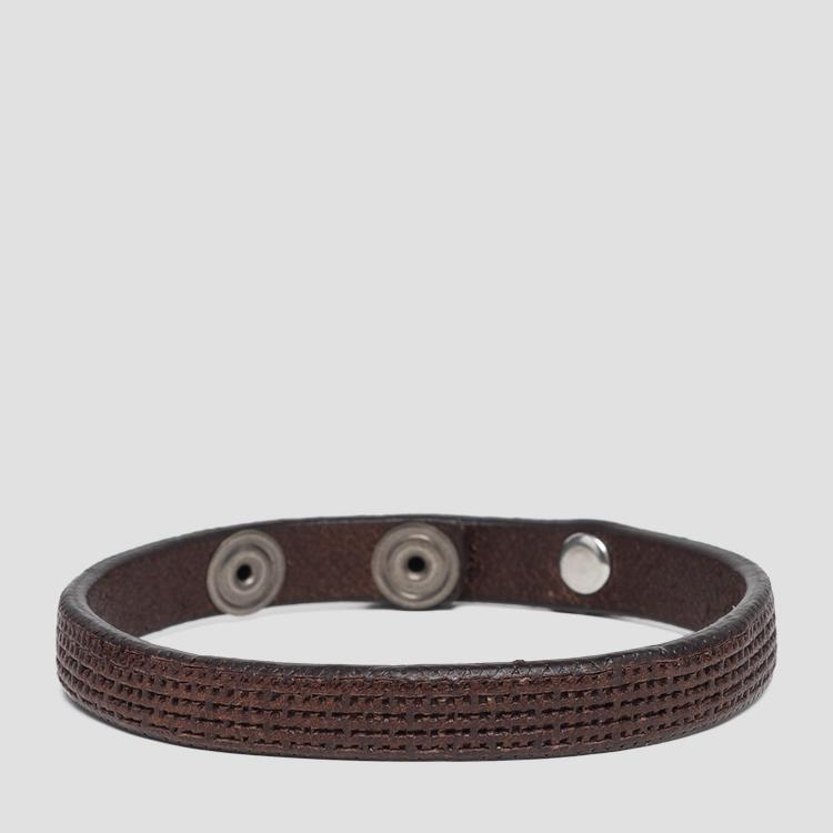 Vintage leather bracelet am7046.000.a3077