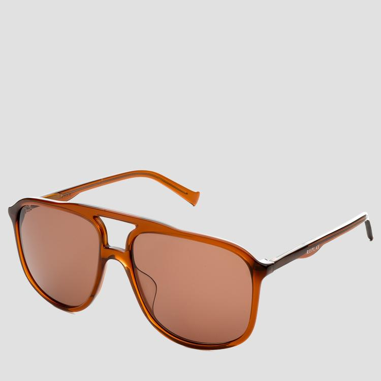 Men's Rectangular sunglasses as614s.000.ry614s