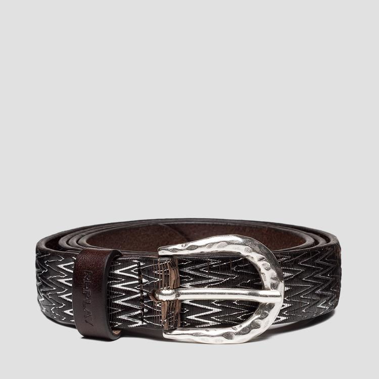 REPLAY leather belt aw2540.000.a3185