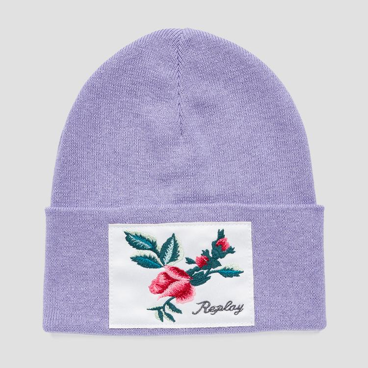 Knit cotton Replay beanie - Replay